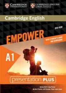 Cambridge English Empower Starter with Student's Book and Workbook Presentation Plus - 2825917487