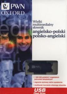 Wielki multimedialny słownik angielsko-polski, polsko-angielski Pendrive - 2851102958