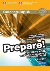 Cambridge English Prepare! 1 Teacher's Book with DVD and Teacher's Resources Online - 2825919083