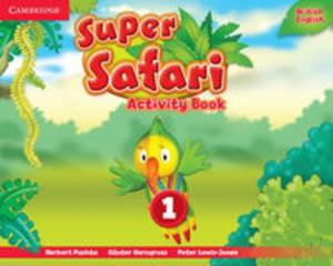 Super Safari 1 Activity Book - 2857783540