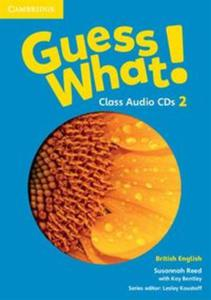 Guess What! 2 Class Audio 3CD British English - 2825919333