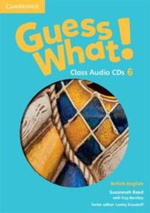 Guess What! 6 Class Audio 3CD British English - 2825919335
