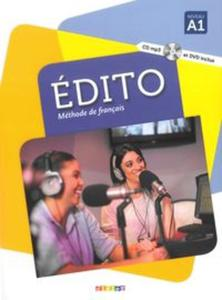 Edito A1 Podręcznik + CDmp3 + DVD - 2857786049