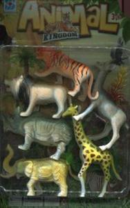 Zwierzęta dzikie Figurki 6 sztuk - 2857786536
