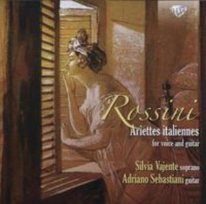 Rossini: Ariettes italiannes for voice and guitar - 2834671336