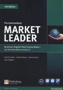 Market Leader Pre-Intermediate Flexi Course Book 1 +CD +DVD - 2853624669