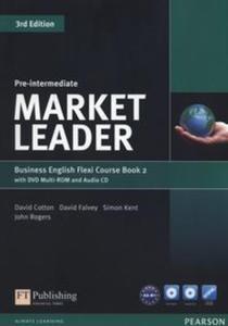 Market Leader Pre-Intermediate Flexi Course Book 2+CD +DVD - 2834671733