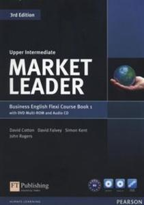 Market Leader Upper-Intermediate Flexi Course Book 1+CD +DVD - 2857787788