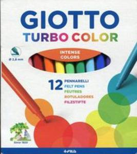Giotto Pisaki Turbo Color 12 sztuk - 2853626098