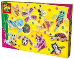 Zwierzątka z drucików kreatywnych - mega pudło - 2836086059