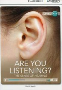 Are You Listening? The Sense of Hearing High Beginning Book with Online Access - 2836086333