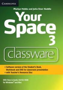 Your Space Level 3 Classware DVD-ROM with Teacher's Resource Disc - 2836086336