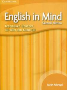 English in Mind Starter Level Testmaker CD-ROM and Audio CD - 2836086352