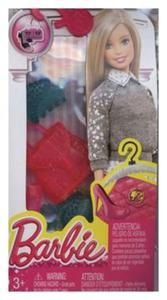 Barbie dodatki do ubranek różowo-niebieskie - 2857795993