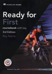 Ready for First Coursebook with key - 2837505432