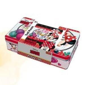 Puzzle w puszce 100 Minnie Mouse Robótki ręczne - 2857796117