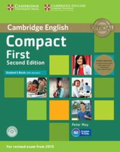 Compact First Student's Book with Answers +2 CD - 2853633218