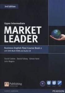 Market Leader Upper-Intermediate Flexi Couse Book + DVD + CD - 2837889688