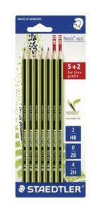 Ołówek Noris eco 5 x HB + 2B i 2H - 2857796891