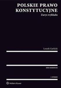 Polskie prawo konstytucyjne Zarys wykładu - 2838454690