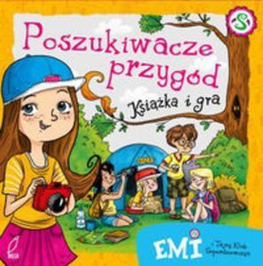 Emi i Tajny Klub Superdziewczyn Poszukiwacze przygód Książka i gra - 2853634690