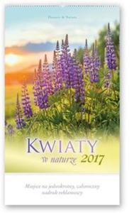 Kalendarz 2017 RW 22 Kwiaty w naturze - 2838455038