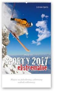 Kalendarz 2017 RW 25 Sporty ekstremalne - 2851118370