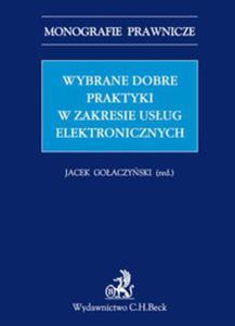 Wybrane dobre praktyki w zakresie usług elektronicznych Wybrane dobre praktyki w zakresie usług elektronicznych - 2857798657