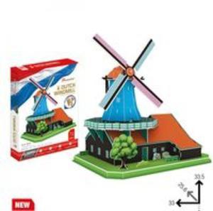 Puzzle 3D Wiatrak holenderski - 2838784377