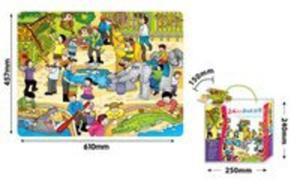 Mata Zoo 24 elementy - 2857798945