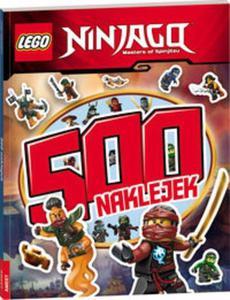 Lego Ninjago 500 naklejek - 2857799120