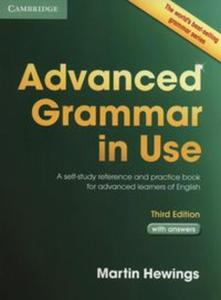 Advanced Grammar in Use with Answers - 2857799375