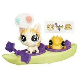 Littlest Pet Shop Zwierzakowe pojazdy Kajak - 2839136403