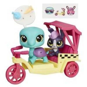 Littlest Pet Shop Zwierzakowe pojazdy Riksza - 2839136404