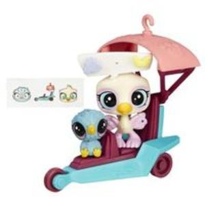 Littlest Pet Shop Zwierzakowe pojazdy Szybowiec - 2839136405