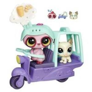 Littlest Pet Shop Zwierzakowe pojazdy Skuter - 2839136406