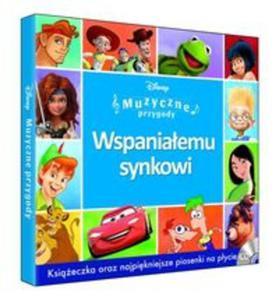 Muzyczne Przygody - Wspaniałemu Synkowi booklet+CD - 2857801558