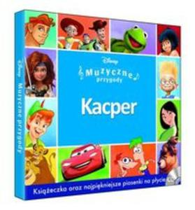 Muzyczne Przygody - Kacper booklet+CD - 2857801564