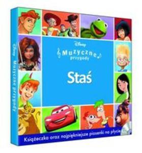 Muzyczne Przygody - Staś booklet+CD - 2857801568
