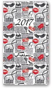 Kalendarz 2017 A6 11T soft Usta - 2857801800