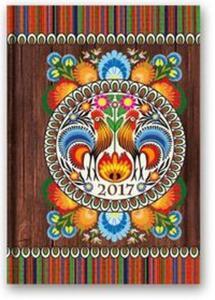 Kalendarz 2017 B6 41D soft Folk - 2857801816