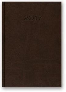 Kalendarz 2017 B6 41D Vivella ciemnobrązowy - 2857801823