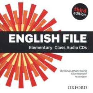 English File Elemenary Ciass Audio CD - 2857801829