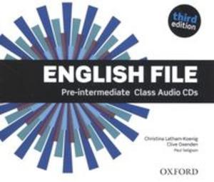 English File Pre-Intermediate Class Audio CD - 2841453712