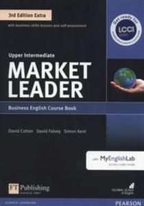 Market Leader Extra Upper Intermediate Course Book +DVD + MyEnglishLab - 2842105153