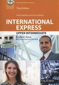 International Express Upper Intermediate Student's Book + Pocket Book + DVD - 2857802788