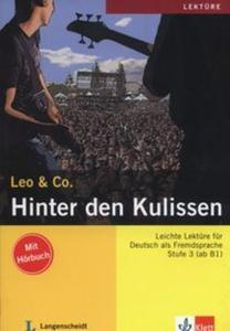 Hinter den Kulissen + CD - 2857805019