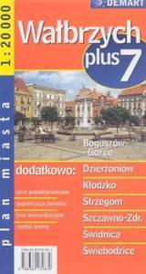 Wałbrzych Plus 7 Plan miasta - 2825666207