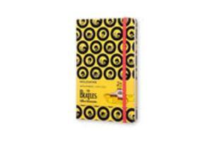 Notes Moleskine Limitowana Edycja THE BEATLES L (13x21 cm) w linie, żółty twarda oprawa - 2857806390