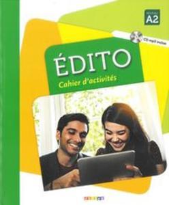 Edito A2 Ćwiczenia + CD - 2857807266